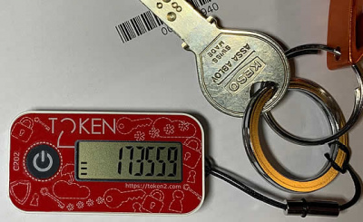 Token2 c202 TOTP hardware token